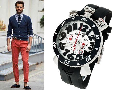 Стильные часы Гага Милано для мужчин