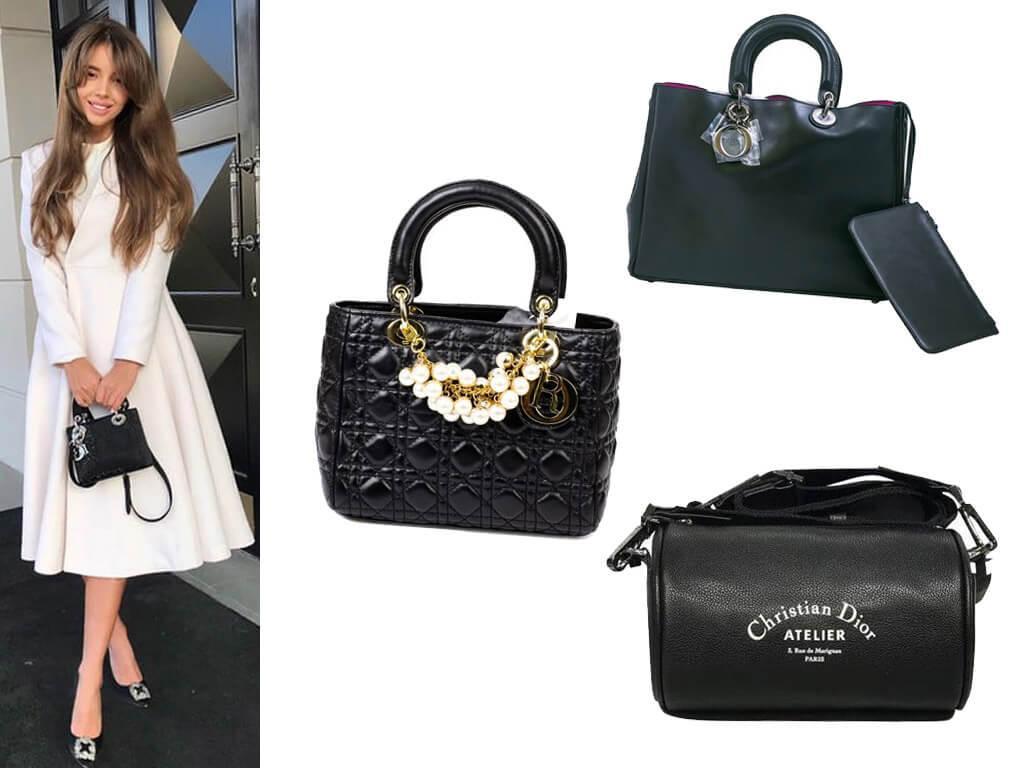Кожаные женские сумки Dior