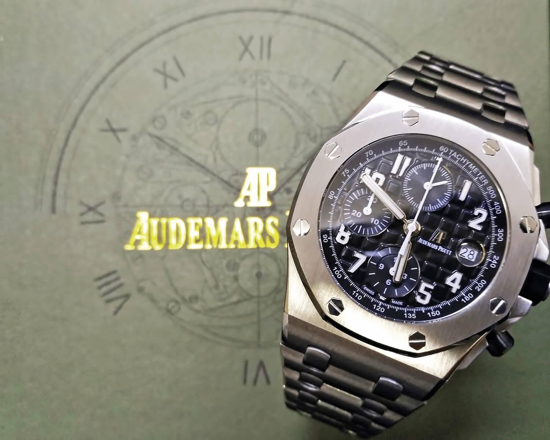 Точная реплика мужских швейцарских часов Audemars Piguet Royal Oak Offshore Chronograph