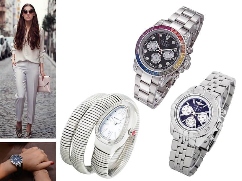 Японские часы с браслетом для женщин
