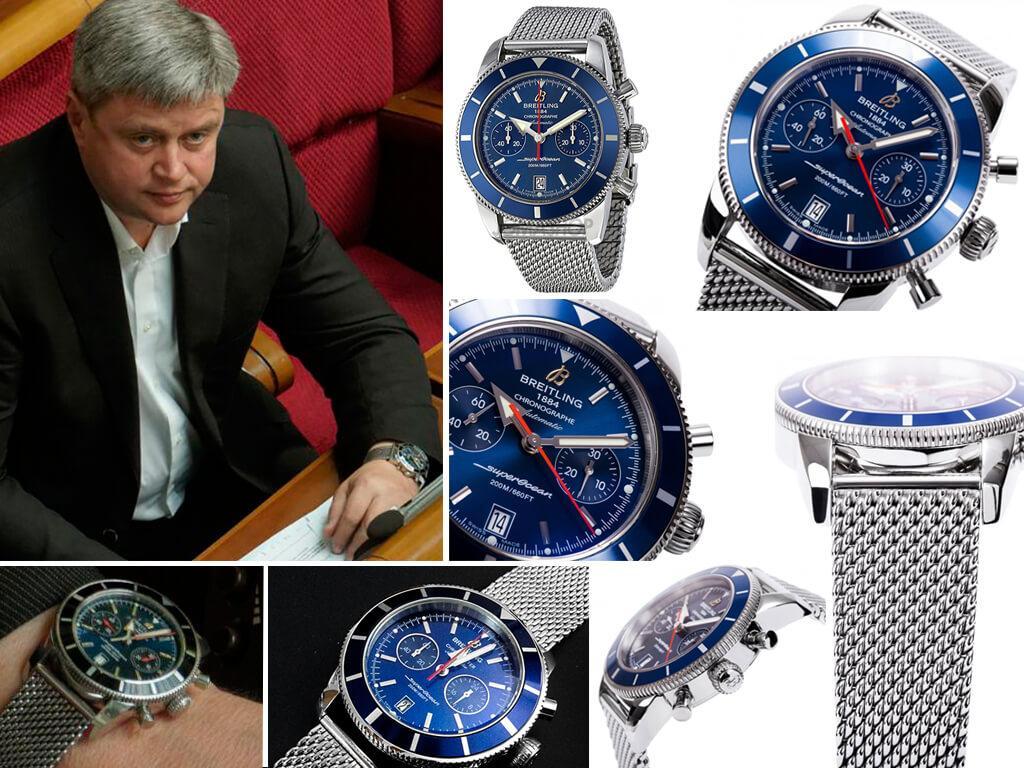 Часы Александра Качного Breitling Superocean Heritage Chronograph 44