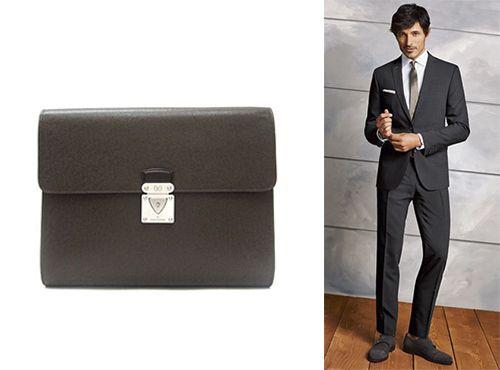 Мужская сумка-папка Louis Vuitton