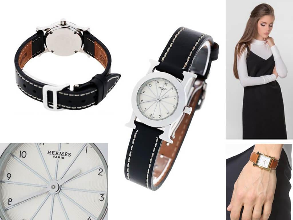 Женские часы Hermes H Hour