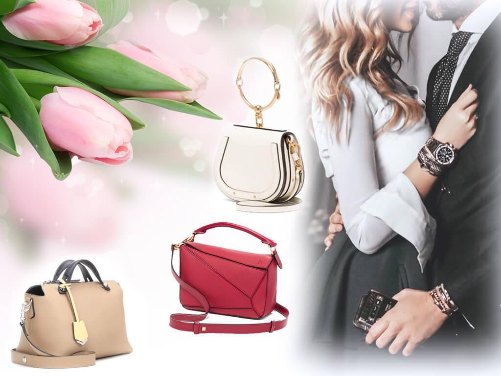 Брендовая сумка - желанный подарок к 8 Марта