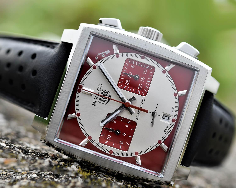 Мужские часы Таг Хойр с квадратным циферблатом