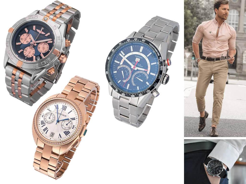 Часы с браслетом для мужчин