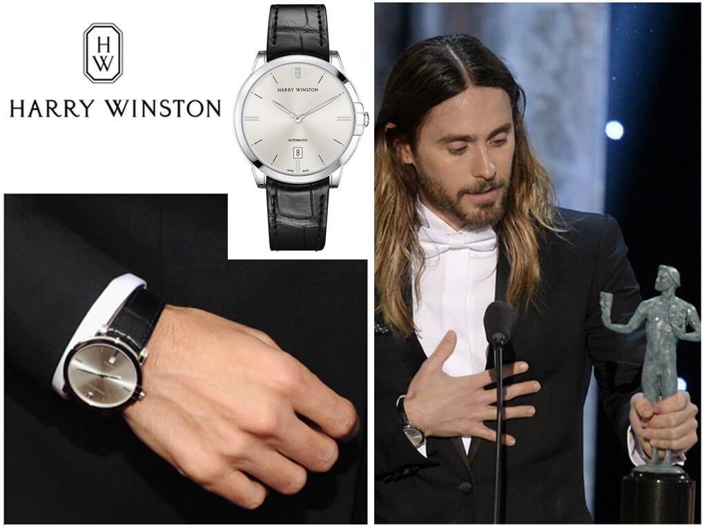 Часы Джареда Лето Harry Winston