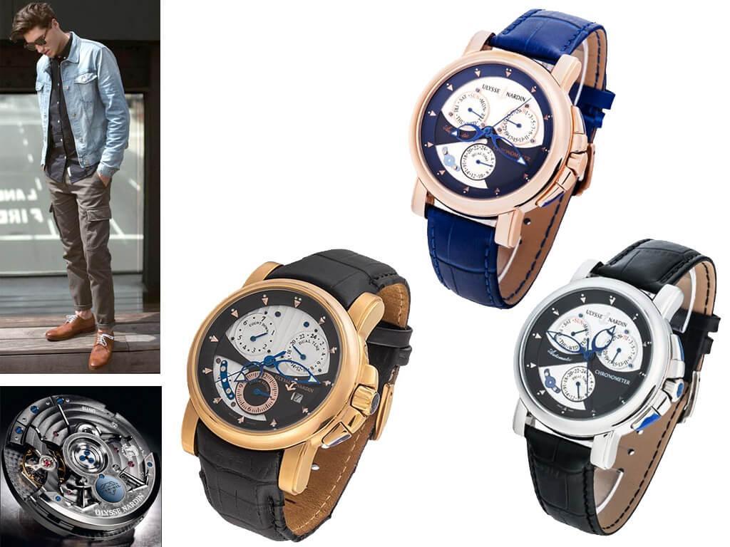 Наручные часы Улисс Нардин Соната Силициум из коллекции Классик