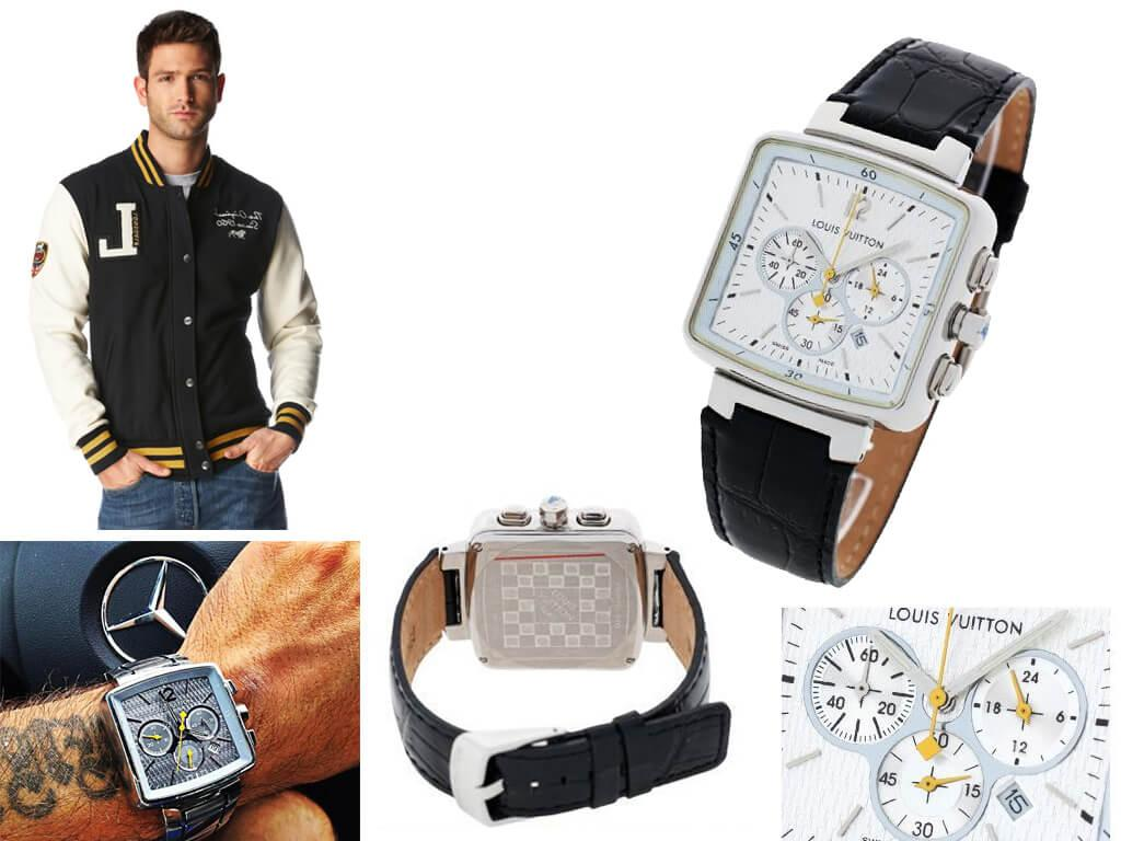 Мужские часы Louis Vuitton Speedy