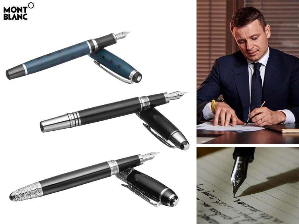 Перьевые ручки стальные для мужчин