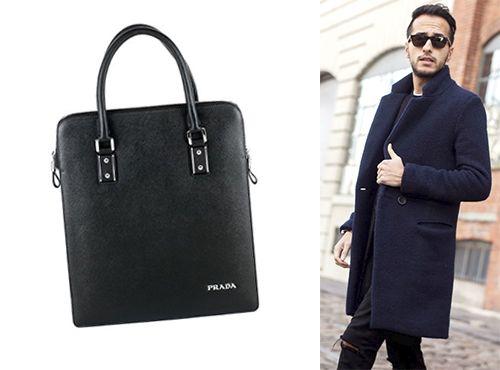 Мужская сумка Prada без плечевого ремня