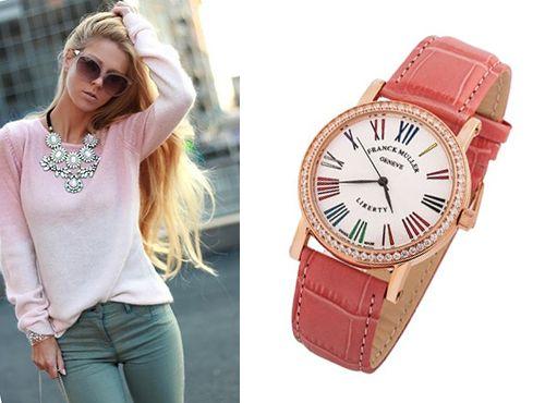 Женские копии часов Franck Muller