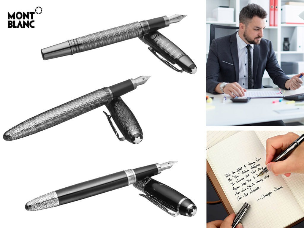 Мужские перьевые ручки с гравировкой