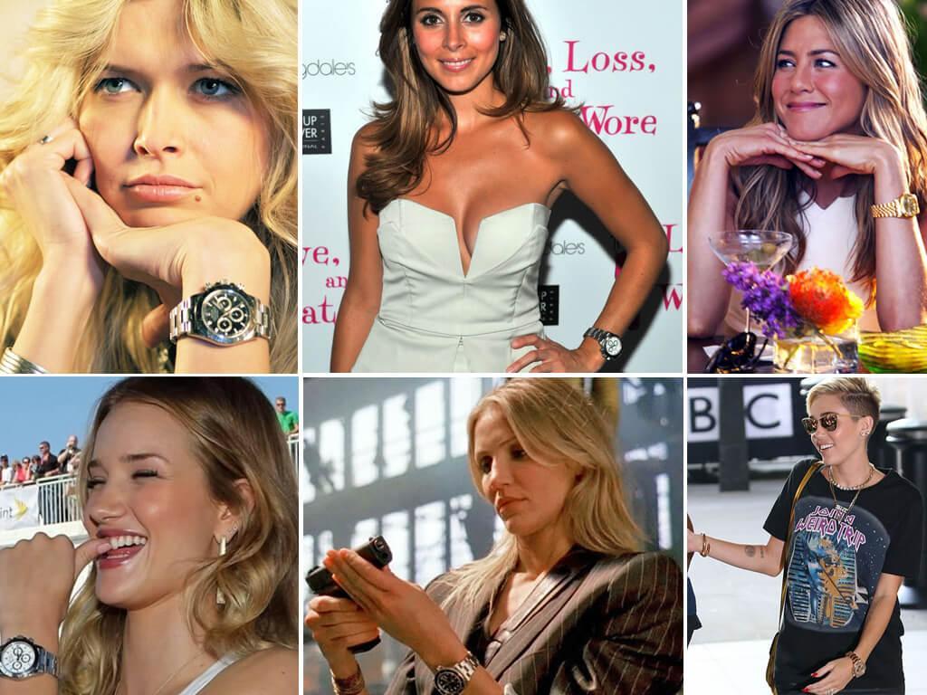 Знаменитые обладательницы Rolex