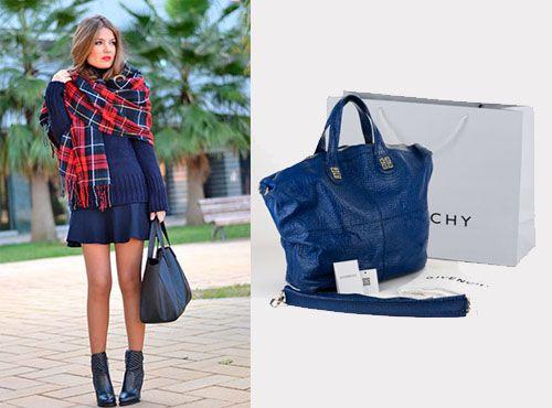 Женская сумка из кожи от Givenchy со скидкой