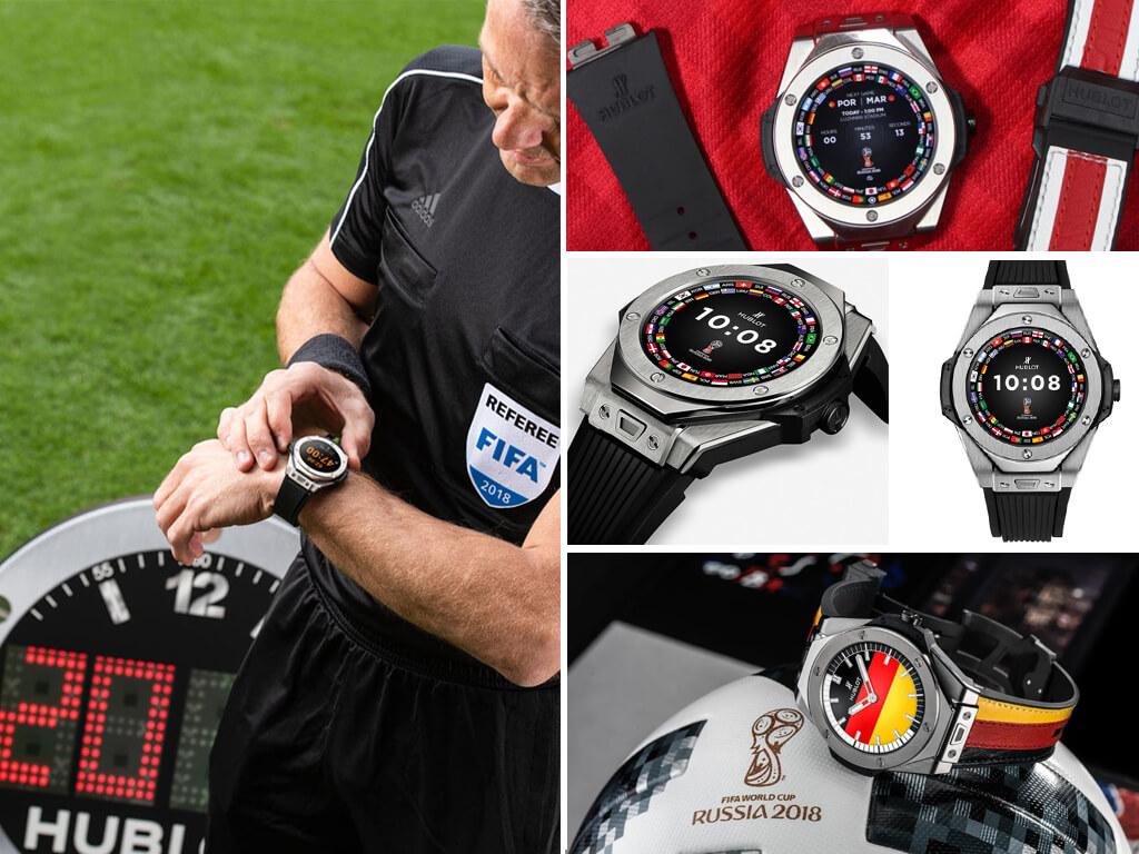 Часы Hublot для футбольных рефери