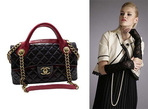 Кожаная сумочка от Шанель женская