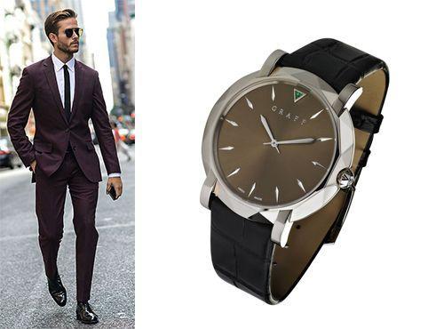 Мужские наручные часы Графф