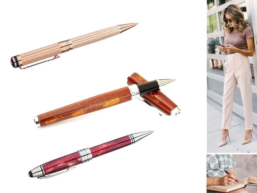 Подарочные женские ручки роллер
