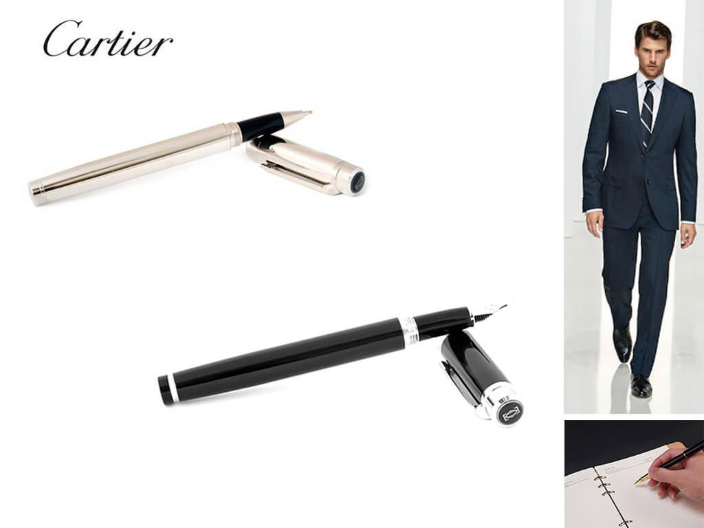 Стильные мужские ручки Картье