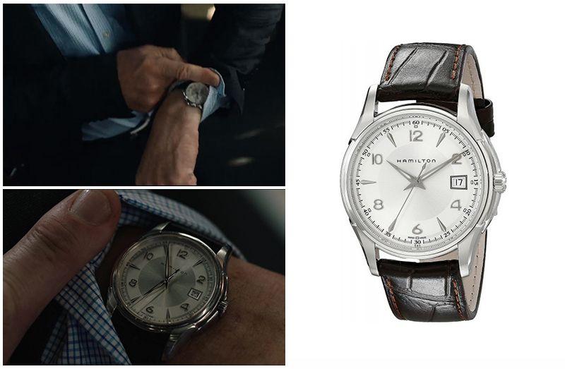 Пассажир (2018): Часы Лиама Нисона Hamilton Jazzmaster Gent Quartz Men's Watch