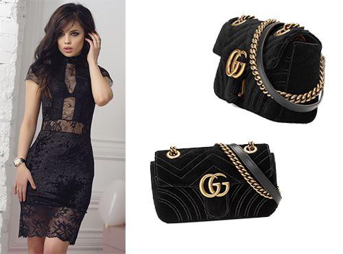 Женская сумочка Gucci GG Marmont