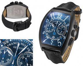 Мужские часы Franck Muller  №MX3743 (Референс оригинала 8080 CC AT NR MAR Black Blue)