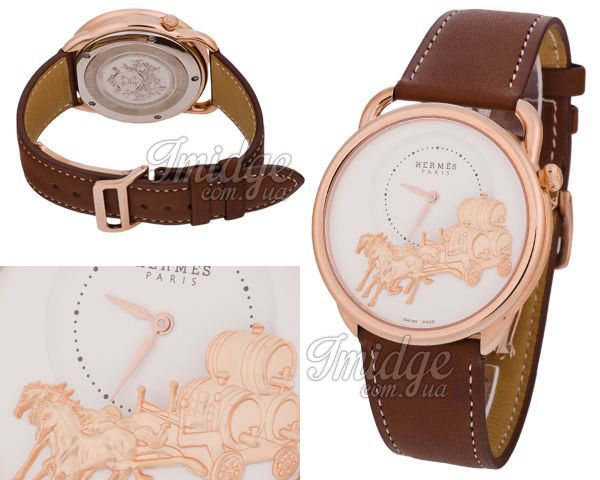 Мужские часы Hermes  №N1539