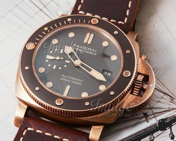 Часы Officine Panerai Submersible Bronzo