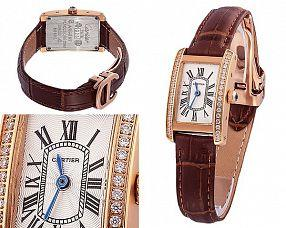 Женские часы Cartier  №MX3178