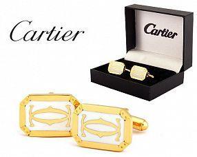 Запонки Cartier  №333