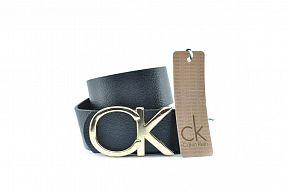 Ремень  Calvin Klein Real золото Leather №B0218