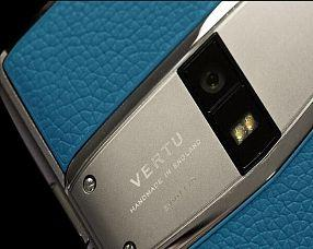 Смартфон Vertu  Constellation Х 2019 Grey Blue