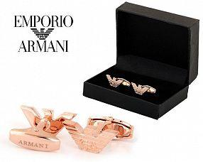 Запонки Emporio Armani  №399