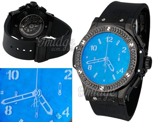 Мужские часы Hublot  №M4626