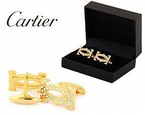 Запонки Cartier  №437