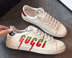 Кеды Gucci  №F271