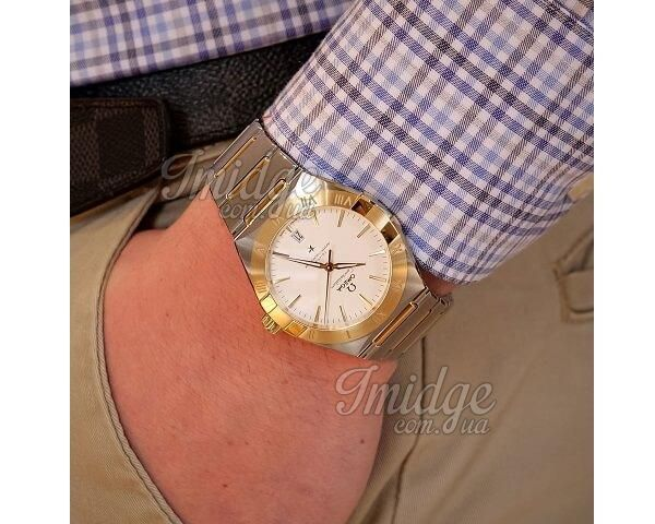 Часы Omega Constellation Co-Axial Master Chronometer