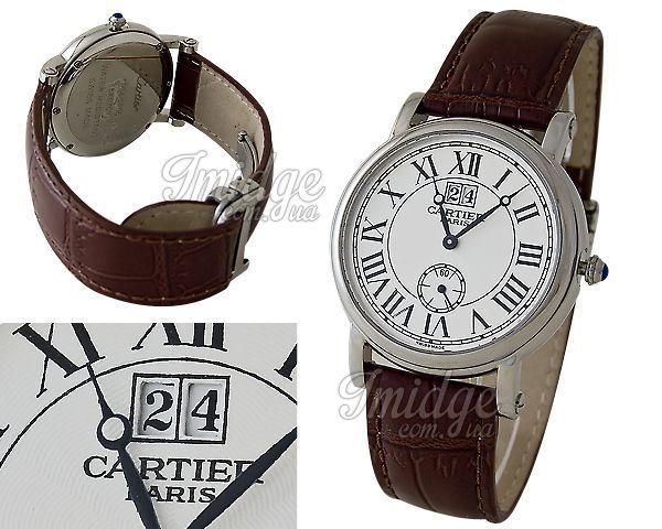 Мужские часы Cartier  №C0199