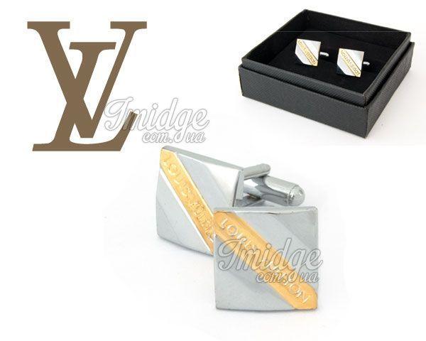 Запонки Louis Vuitton  №203