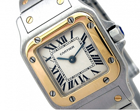 Часы Cartier Santos de Cartier Galbee Small