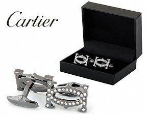 Запонки  Cartier  №435