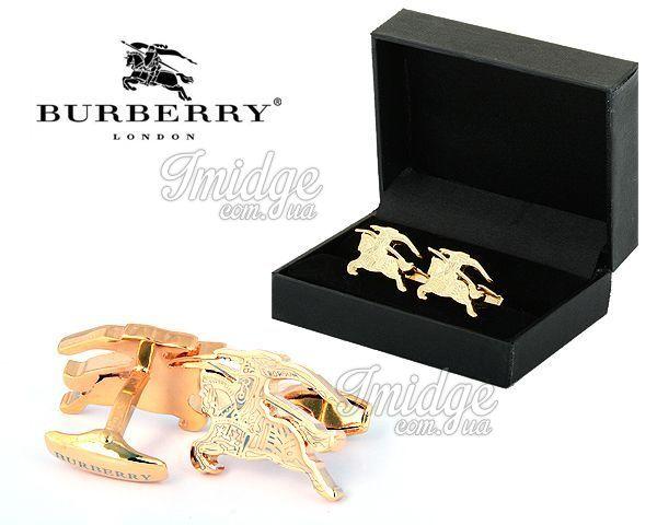 Запонки Burberry  №413