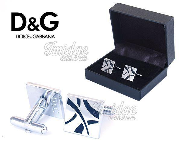 Запонки Dolce & Gabbana  №458