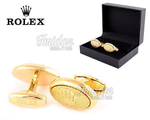 Запонки Rolex  №363