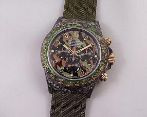 Мужские часы Rolex Модель №MX3633 (Carbon Military Green)