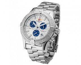 Мужские часы Breitling Модель №MX3674 (Референс оригинала A7380C1 Wh_Blue-SS)