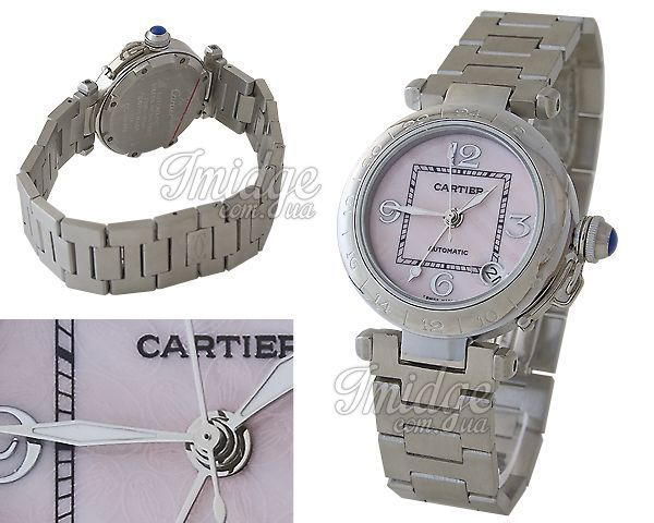 Женские часы Cartier  №C0208