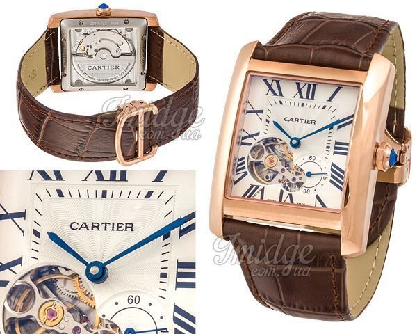Мужские часы Cartier  №MX2896