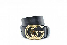 Ремень  GUCCI золото Leather №B0219